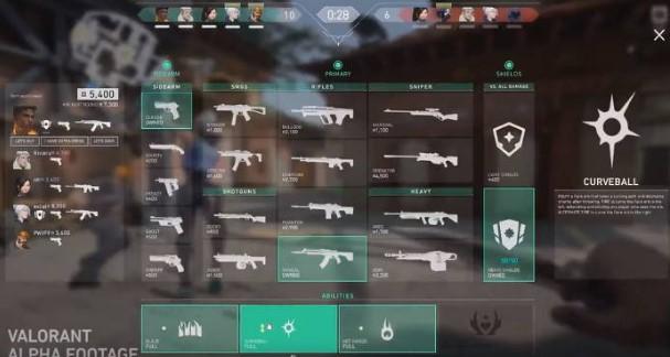 las mejores armas valorant