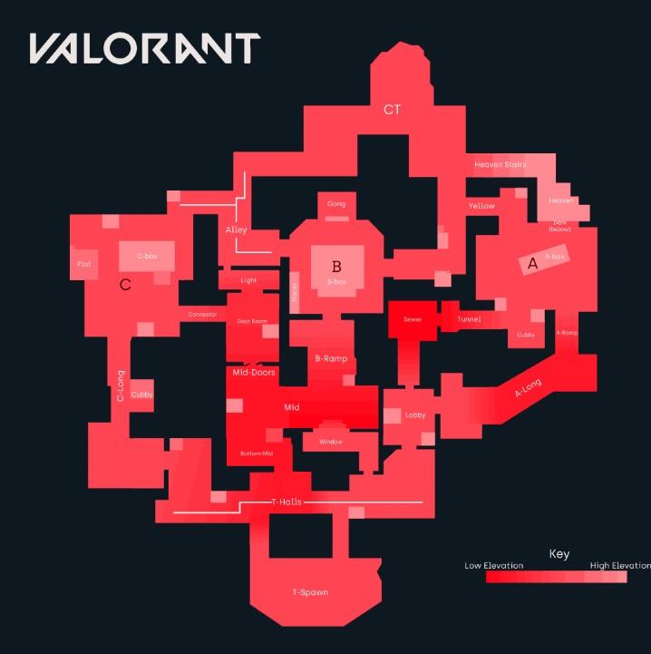 Heaven mapas valorant