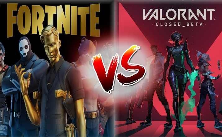 fornite vs valorant