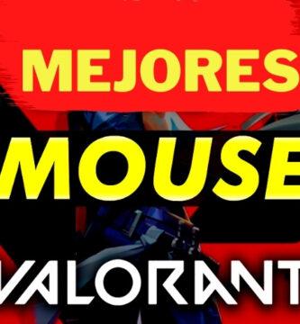 mejores mouses para valorant